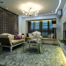 精美面积92平欧式三居客厅装饰图片大全