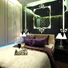 欧式风格主卧室装饰效果图