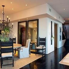 现代简约风格别墅客厅装修设计