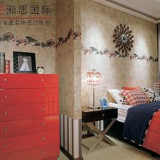 新古典风格卧室角柜图片