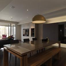 精美面积89平小户型餐厅现代装修设计效果图片欣赏