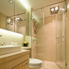 现代风格小复式卫生间装修效果图