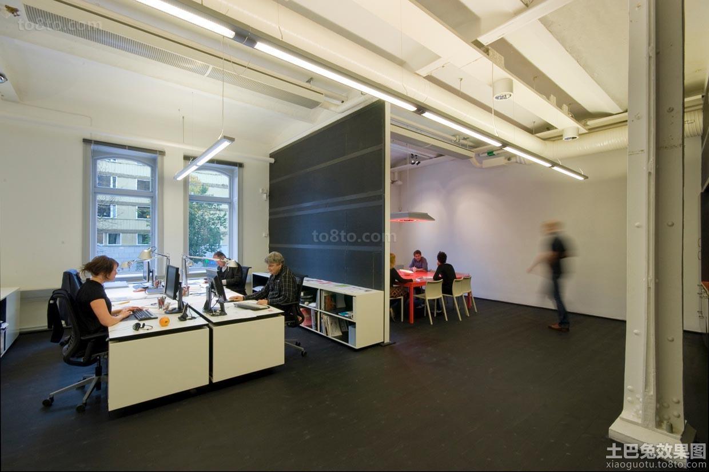 60平米办公室布局设计图 土巴兔装修效果图