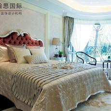 欧式风格弧形窗台卧室装修效果图