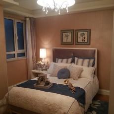 精美面积95平欧式三居卧室装修效果图片欣赏