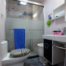 精美小户型卫生间现代装修实景图片欣赏