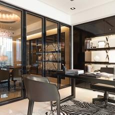 现代中式风格书房装修效果图欣赏