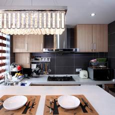 现代风格厨房墙面砖效果图