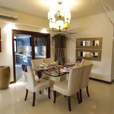 精选74平米东南亚小户型餐厅装修图片