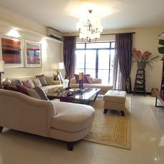 2018东南亚小户型客厅装饰图