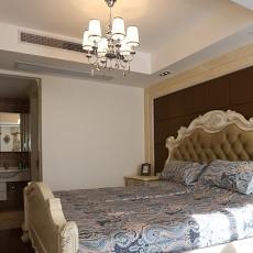 2018精选面积83平小户型卧室欧式装修设计效果图