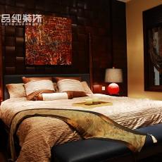 现代东南亚风格主卧室装修图