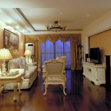 欧式风格客厅设计实景图