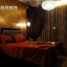 现代东南亚风格卧室设计图