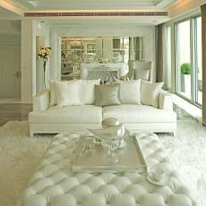 白色简约欧式沙发图片