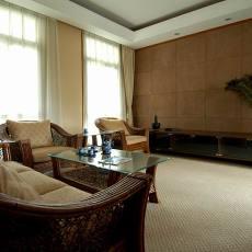 别墅简装客厅效果图