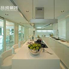 极简主义整体厨房效果图
