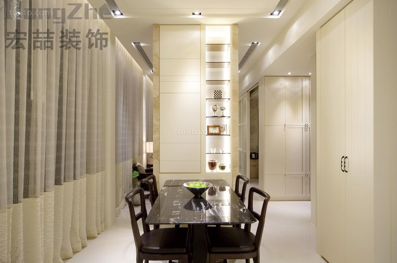 新简约风格家庭餐厅装修效果图欣赏