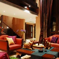 东南亚风格别墅装饰效果图