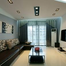 现代风格客厅设计图