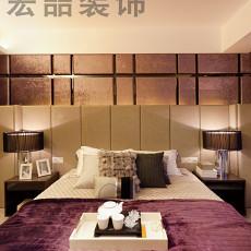 经典现代风格卧室效果图
