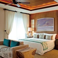 东南亚风格简装卧室效果图