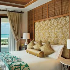 时尚东南亚风格卧室装修效果图欣赏