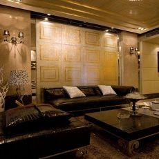 欧式现代客厅装修效果图大全