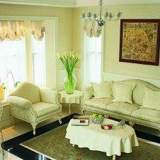 精美111平米欧式复式客厅装饰图片欣赏
