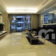 精选面积70平小户型客厅现代实景图
