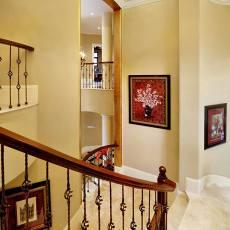 别墅楼梯间设计图片
