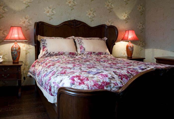 混搭中式卧室灯具图片