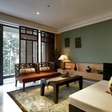 中式风格家装客厅设计效果图