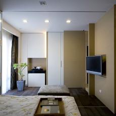 小卧室电视墙隔断效果图