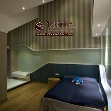 现代卧室设计图大全