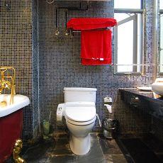 现代卫生间装修效果图大全2014图片