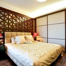 简中式卧室装修效果图大全2014图片