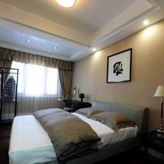 现代简装15平米卧室装修效果图