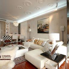 简约现代客厅装修效果图片