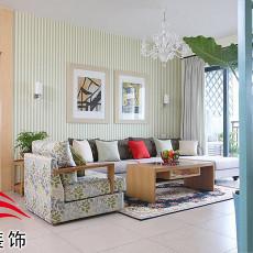 清新中式客厅装修效果图