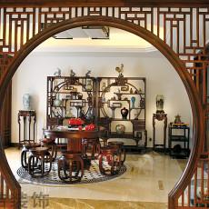 中式家庭餐厅装修效果图欣赏