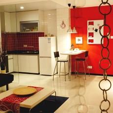 78平米现代小户型休闲区装修设计效果图片欣赏