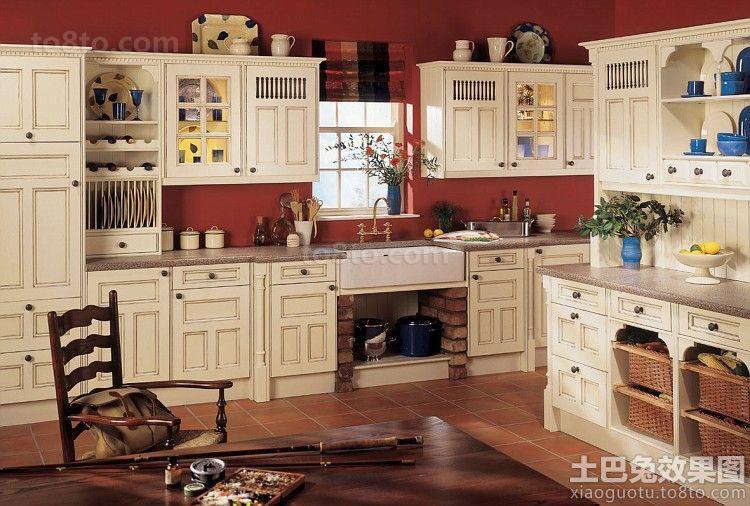 家居大厨房整体橱柜设计图片