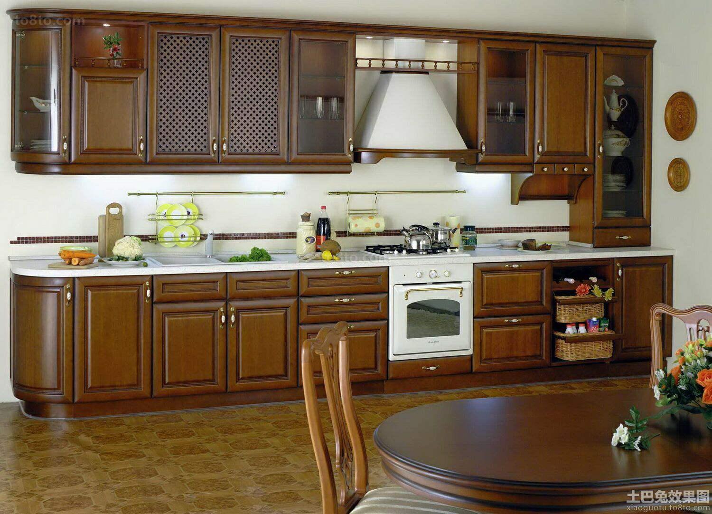 美式开放式厨房装修
