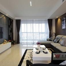 热门面积90平小户型休闲区现代装修设计效果图片