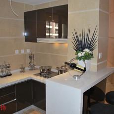 现代风格家庭小厨房装修
