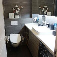 热门76平米现代小户型卫生间装修设计效果图