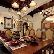 古典欧式餐厅装饰效果图