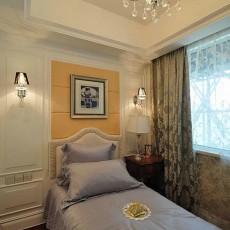 欧式卧室家装设计效果图