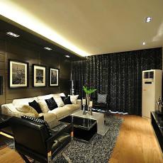 现代风格家庭客厅装修效果图大全